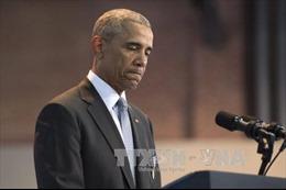 """Ông Obama thừa nhận """"đánh giá thấp"""" tác động của Nga đối với bầu cử"""