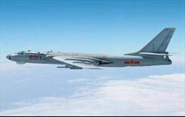 Nhật Bản phát hiện nhiều chiến đấu cơ Trung Quốc ở eo biển Tsushima