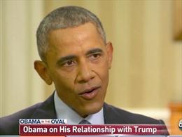 Tổng thống Obama thừa nhận điểm chung với ông Trump