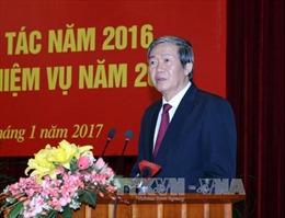 Ban Kinh tế Trung ương tổ chức tổng kết công tác năm 2016