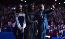 Tại sao con gái út vắng mặt khi ông Obama phát biểu chia tay