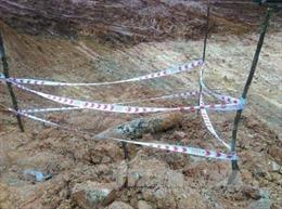 Di dời quả bom nặng khoảng 200 kg tại Quảng Bình