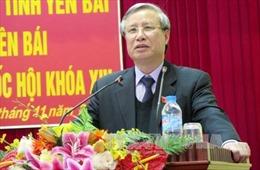 Đồng chí Trần Quốc Vượng thăm và tặng quà Tết cho đồng bào Yên Bái