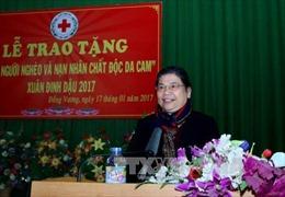 Phó Chủ tịch Thường trực Quốc hội Tòng Thị Phóng thăm, chúc Tết tại tỉnh Bắc Giang