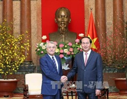 Chủ tịch nước tiếp Bộ trưởng Năng lượng Azerbaijan