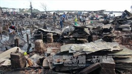 Hỗ trợ kịp thời các hộ dân bị thiệt hại do cháy ở Nha Trang