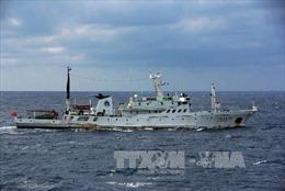 Tàu hải cảnh Trung Quốc lại 'lảng vảng' quanh đảo tranh chấp với Nhật Bản