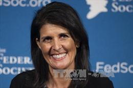 Thượng viện Mỹ phê chuẩn bà Nikki Haley làm Đại sứ tại LHQ