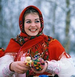 Ký ức ảnh về đón năm mới thời Liên Xô