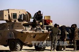 Liên quân hậu thuẫn tấn công dồn dập IS tại hang ổ Raqqa