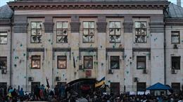 Ukraine chấm dứt hợp đồng thuê đất với ĐSQ Nga tại Kiev
