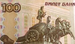 Nga lo đồng ruble tăng giá bất thường