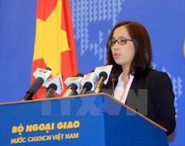 Việt Nam lên án mạnh mẽ các hành vi tội phạm dưới mọi hình thức và mọi mục đích
