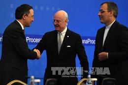 Cuộc hòa đàm về Syria được nối lại tại Kazakhstan