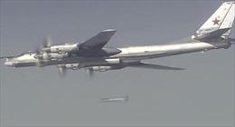 Máy bay ném bom Nga tấn công gần thành trì IS ở Syria