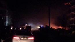 Đánh bom tại khu vực biên giới giáp Syria