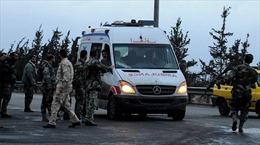 Xe quân sự Nga trúng mìn ở Syria, 4 binh sỹ thiệt mạng