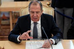 Ngoại trưởng Lavrov cáo buộc tình báo Mỹ nghe lén Đại sứ Nga