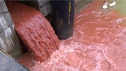 Thông tin Formosa xả nước thải màu đỏ là sai sự thật