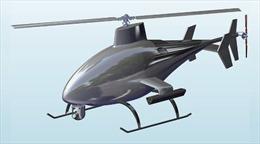 Trực thăng 'Ong bắp cày' không người lái, tàng hình trước radar