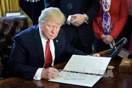 Tổng thống Mỹ ký sắc lệnh nhằm cắt giảm quy định liên bang