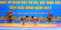 Bế mạc Giải Vô địch Vật tự do, Vật dân tộc tỉnh Bắc Ninh 2017