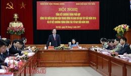 Tổng kết chương trình phối hợp công tác giữa Ban Dân vận Trung ương và Ban Chỉ đạo Tây Bắc