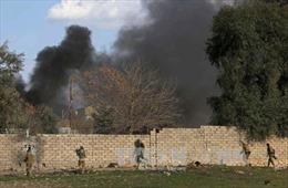 Lực lượng Iraq tiến sâu vào Tây Mosul, IS suy kiệt sức kháng cự
