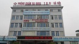 Thu hồi giấy phép hoạt động của Phòng khám 168 Hà Nội
