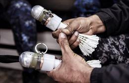 Quân đội Iraq dùng lựu đạn cầu lông khiến IS chịu đòn đau