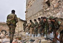 Quân đội Syria tái chiếm các khu vực ở Damascus