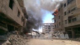 Các tay súng nổi dậy mở cuộc tấn công mới vào Damascus