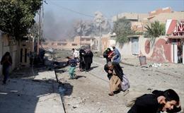 Iraq: Không kích trúng khu trú ẩn tại Mosul, ít nhất 200 người thiệt mạng