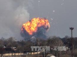 Ukraine nghi ngờ 'có bàn tay' Nga trong vụ nổ kho đạn