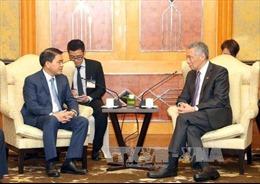 Hà Nội mong muốn hợp tác với Singapore trong nhiều lĩnh vực