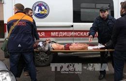 Hình ảnh vụ nổ tàu điện ngầm kinh hoàng nghi là tấn công khủng bố ở Nga