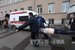 Thông tin mới nhất vụ nổ tàu điện ngầm ở St.Petersburg