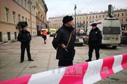 Phát hiện thêm một thiết bị nổ tự chế trong vụ nghi khủng bố ở St. Petersburg