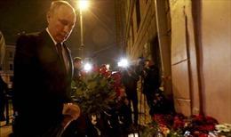 Điện thăm hỏi vụ khủng bố tại ga tàu điện ngầm thành phố Saint Petersburg