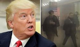 Tổng thống Mỹ Donald Trump nói gì về vụ nổ tàu điện ngầm ở Nga?