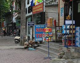 Nghệ An: Nghiêm cấm can thiệp, cản trở giải tỏa lấn chiếm vỉa hè