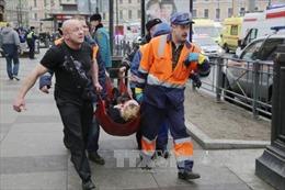 Số người thiệt mạng trong vụ nổ ga tàu điện ngầm Nga tiếp tục tăng
