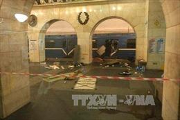 Xác định danh tính nghi phạm tấn công tàu điện ngầm Nga