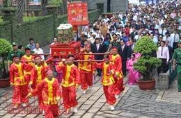 Trang trọng Lễ giỗ tổ Hùng Vương tại TP Hồ Chí Minh