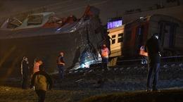 Tàu hỏa tông tàu điện ngầm ở Nga, hàng chục người bị thương