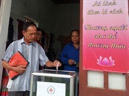 Trung ương Hội Chữ thập đỏ khám bệnh và cấp thuốc miễn phí cho đồng bào nghèo