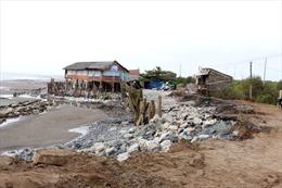 Đồng bằng sông Cửu Long đối diện với biển xâm thực
