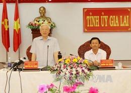 Tổng Bí thư: Gia Lai tập trung phát triển nông lâm nghiệp trình độ cao, chất lượng cao