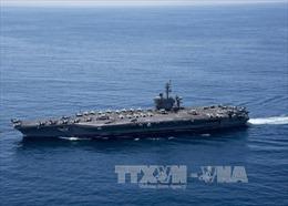 Đồng minh bối rối trước vị trí khó hiểu của tàu sân bay Mỹ