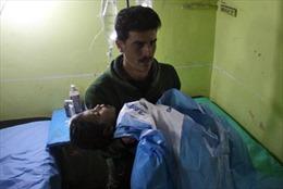 Đã có kết quả xét nghiệm mẫu phẩm từ vụ tấn công hóa học ở Syria